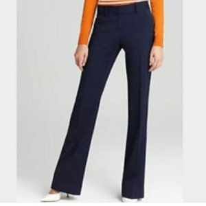 Theory Navy Blue Wool Blue Pants Size 4